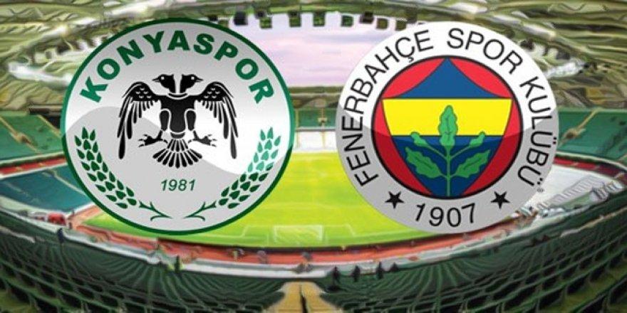A.Konyaspor-Fenerbahçe maçından notlar