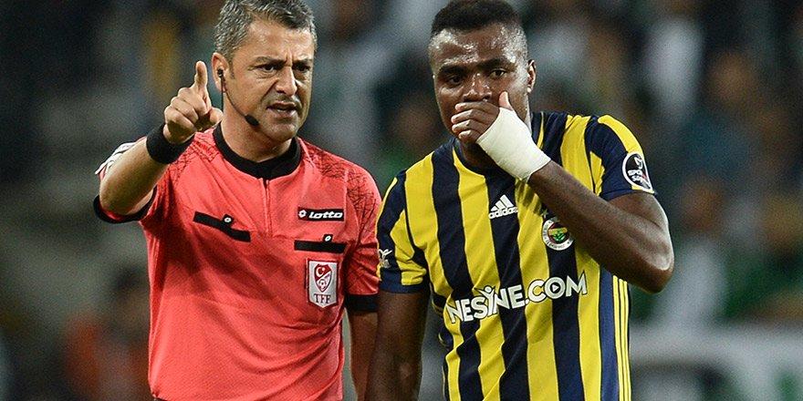 """Ömer Ali Şahiner: """"Penaltı kararını Cem Satman engelledi"""""""