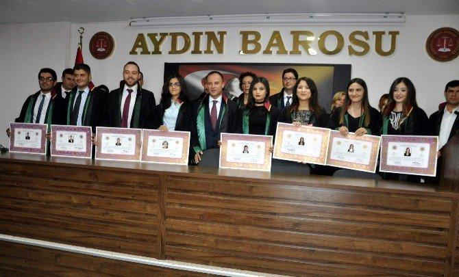 Aydın'da savunma genç avukatlarla güçlendi