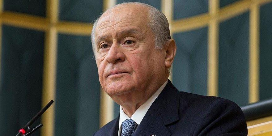 MHP lideri Devlet Bahçeli'den flaş Başkanlık açıklaması