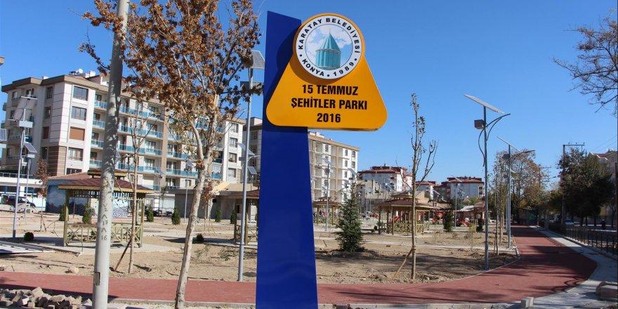 Karatay'a yeni park!