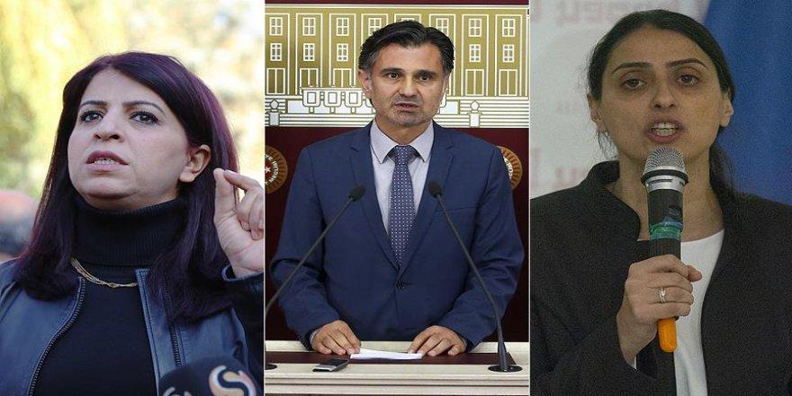 HDP'li 3 milletvekili hakkında soruşturma