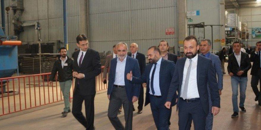 Cumhurbaşkanı Başdanışmanı Topçu, Ankaralı sanayicilerle buluştu