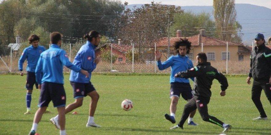 Çorum Belediyespor, Tarbzonspor maçı hazırlıklarını tamamladı
