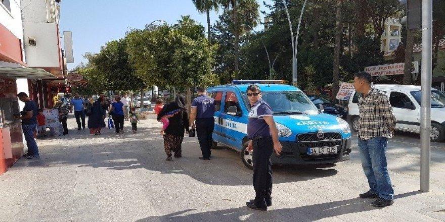 Antalya'da dilenci operasyonu
