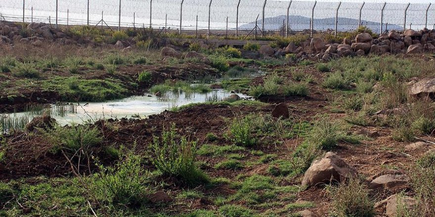 İsrail kanalizasyon sularını Suriye'ye akıtıyor
