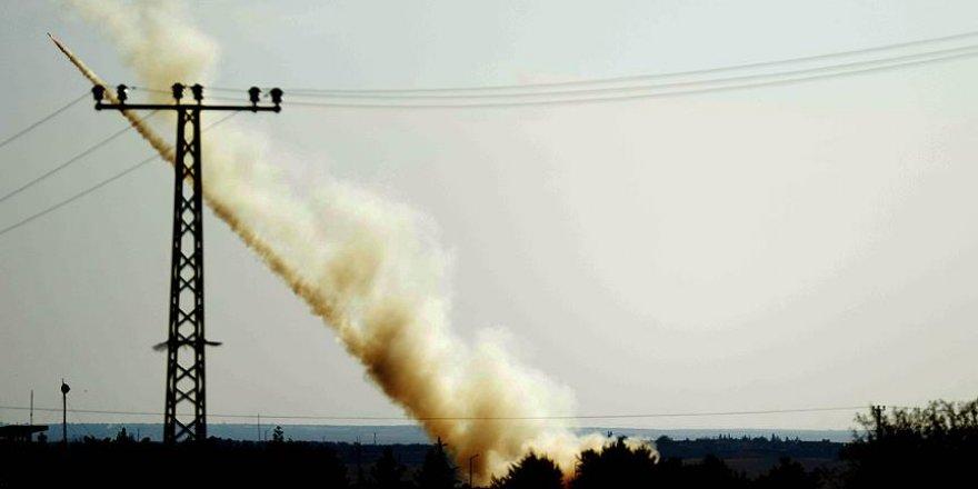 Fırat Kalkanı Harekatında 117 hedef ateş altına alındı