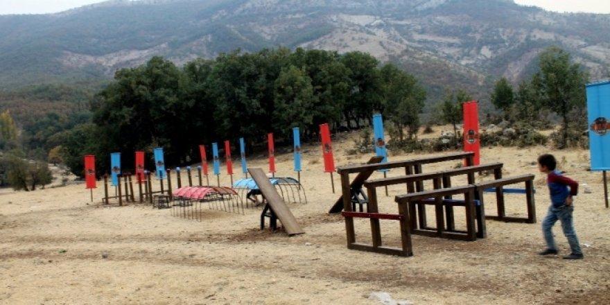 Irak sınırında gerçek Survivor parkuru kuruldu