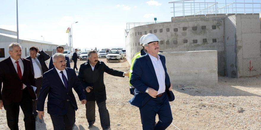 Konya'nın en büyük çevre yatırımı devam ediyor