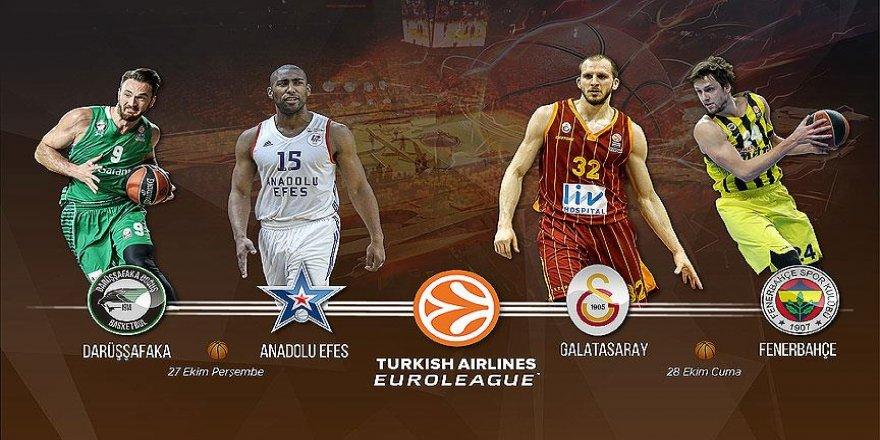 THY Avrupa Ligi'nde Türk derbileri haftası