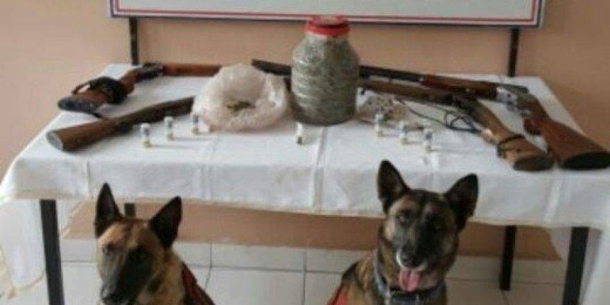 Yozgat Jandarma'dan uyuşturucu operasyonu