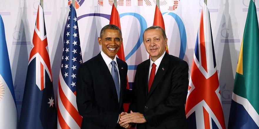 Erdoğan ile Obama telefonda görüştü