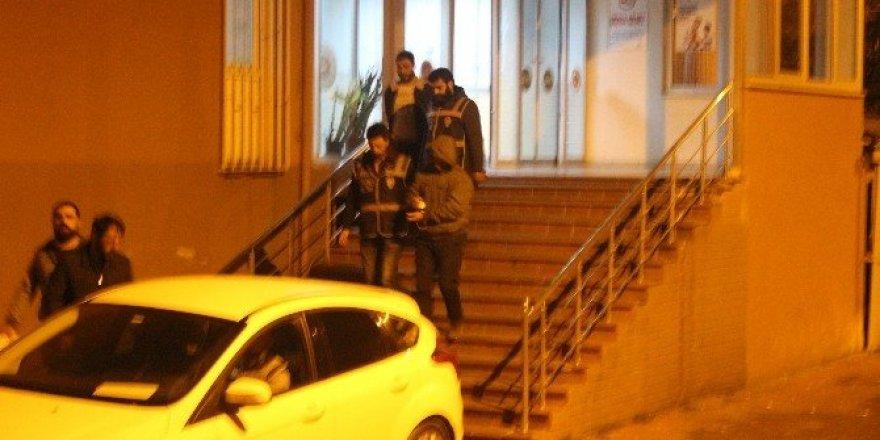 Bartın'da adliyeye sevk edilen 7 polisten 1'i tutuklandı