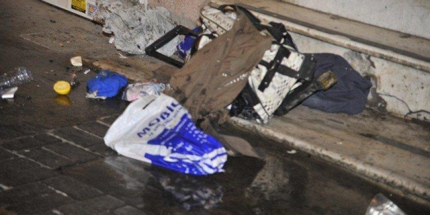 İzmir'de şüpheli çanta paniği