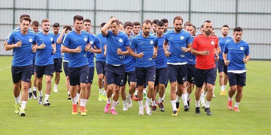 Çaykur Rizespor Trabzonspor maçına hazırlanıyor