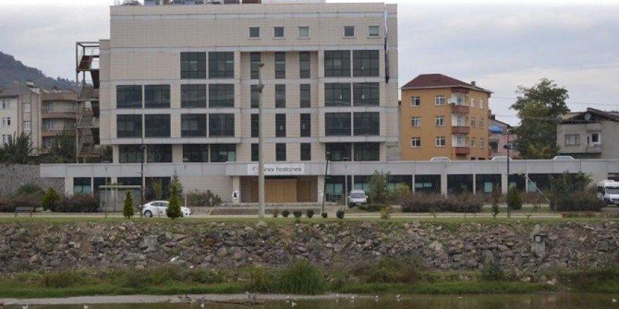Özel hastanenin binası artık sağlık bakanlığına devir oldu