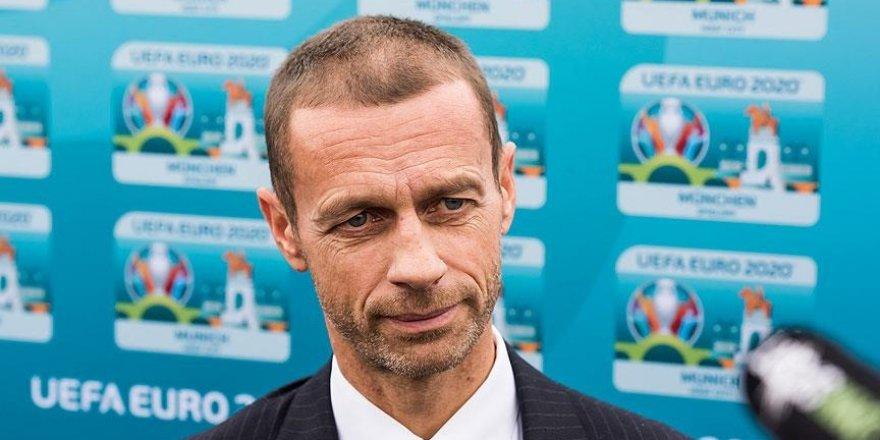 Ceferin: EURO 2020 özel bir futbol şöleni olacak