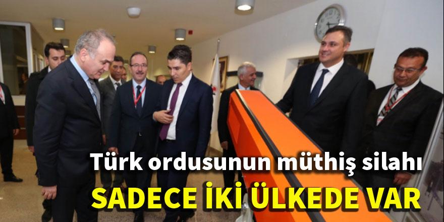 Türk ordusunun müthiş silahı