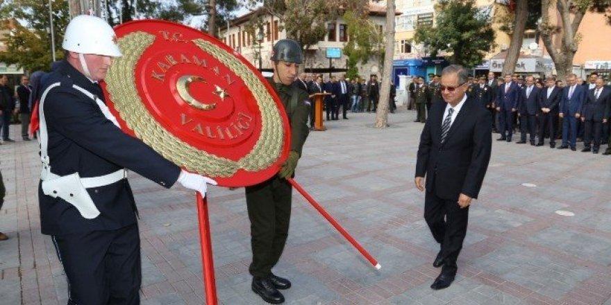 Karaman'da 29 Ekim Kutlamaları