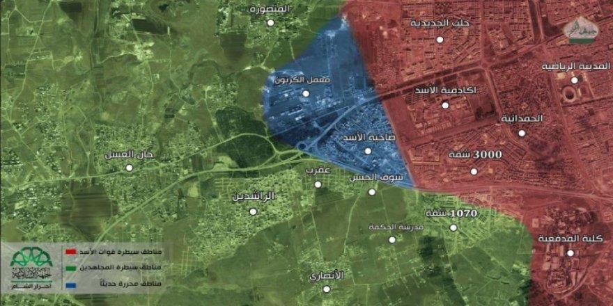 Esad'ın ilk savunma hattı kırıldı
