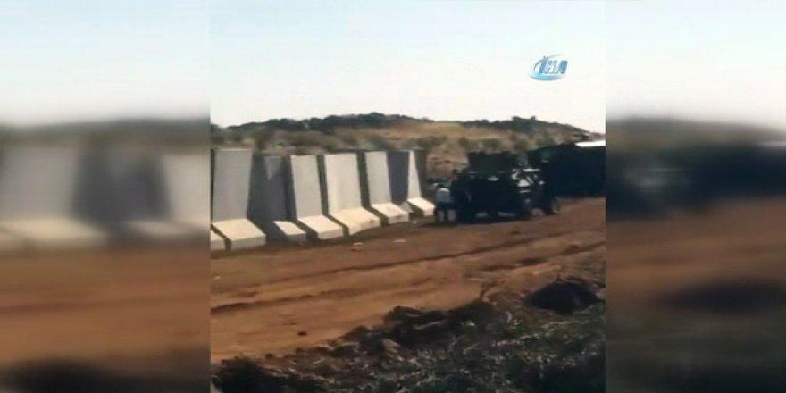 Suriye sınırında 'Duvar' gerginliği
