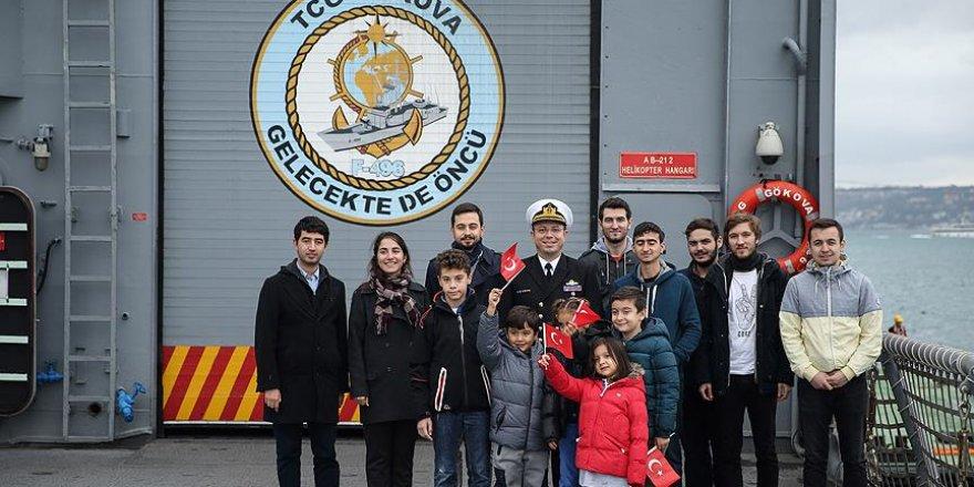 Donanma Komutanlığı iki fırkateyni ziyarete açtı
