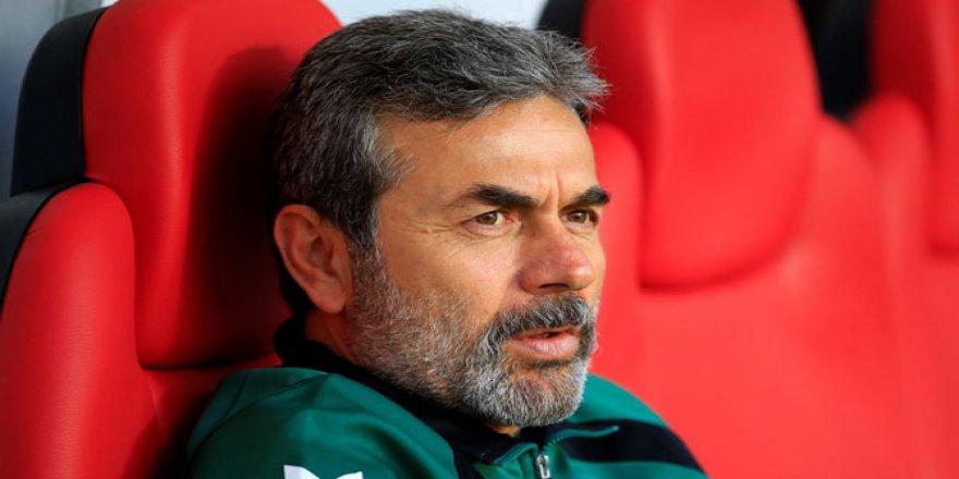 Aykut Kocaman,''Maç G.Antep'in pozisyonunda koptu''