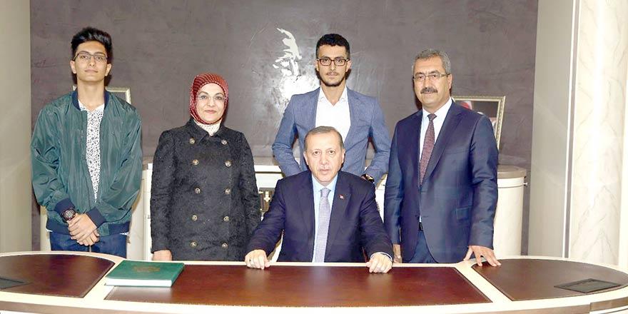 Cumhurbaşkanı Erdoğan, Toru ailesiyle