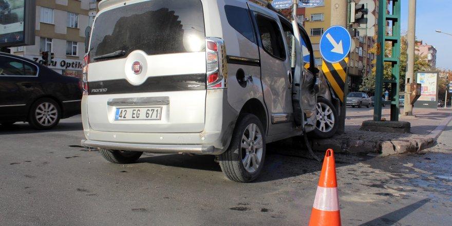 Küçükçekmece'de trafik kazası: 1 ölü