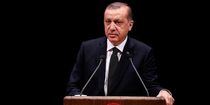 Erdoğan'dan 'partili cumhurbaşkanı' açıklaması