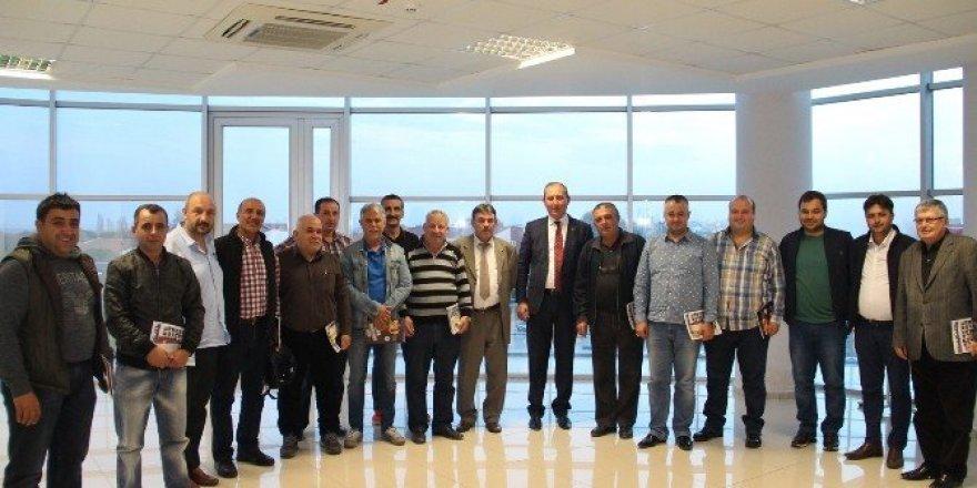 Başkan Işık, spor kulüpleri ve dernek temsilcileriyle bir araya geldi