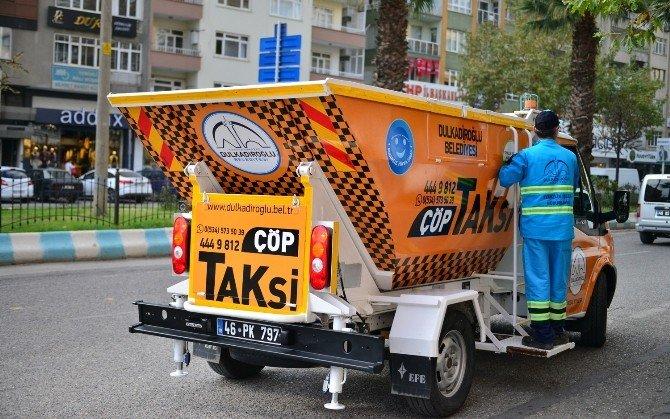 Kahramanmaraş 'Çöp' taksiyle temizlenecek