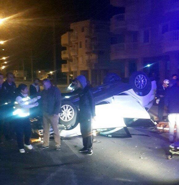 Didim'de trafik kazası: 2 yaralı