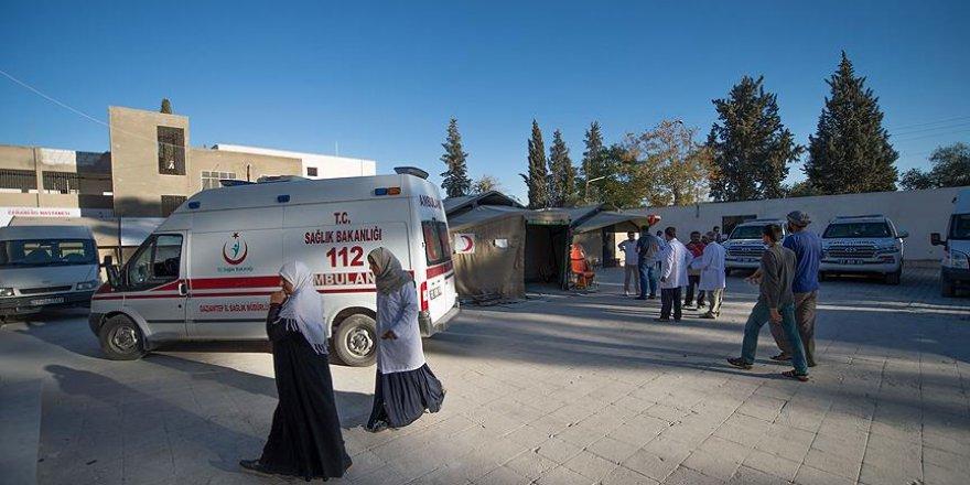 Cerablus'ta nüfusun yarısı kadar poliklinik hizmeti verildi