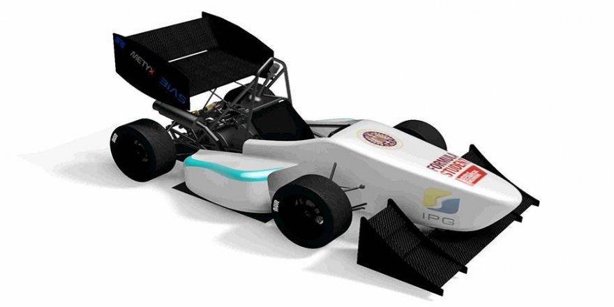 Üniversite öğrencileri 'yerli Formula 1' aracı tasarladı
