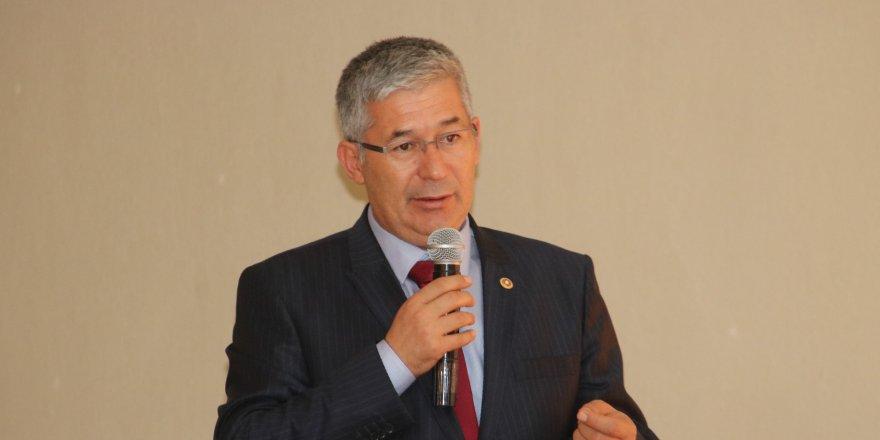 Babaoğlu'ndan genel kurulda 'su' ve 'teknik üniversite' vurgusu