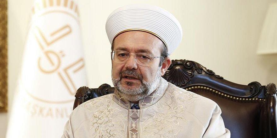Görmez: Ezanı yasaklamak İslam'ın Kudüs'teki varlığını inkardır