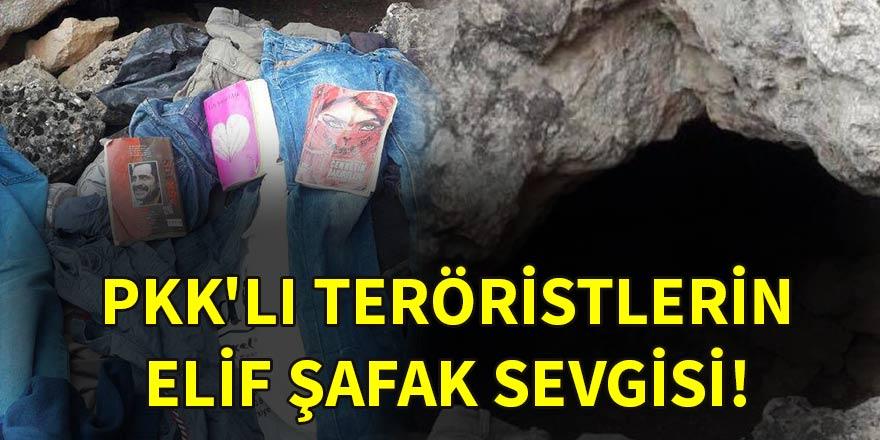 PKK'lı teröristlerin Elif Şafak sevgisi!