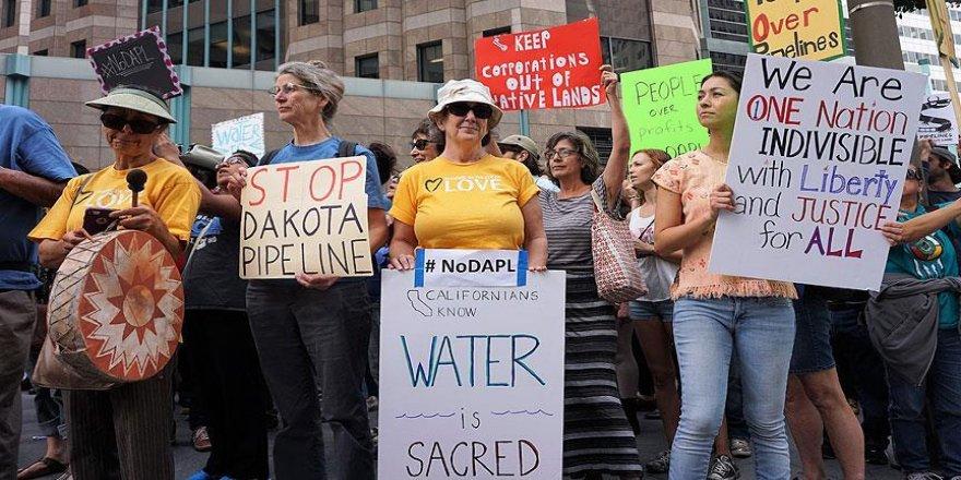 ABD'de 'boru hattı projesi'ne protesto