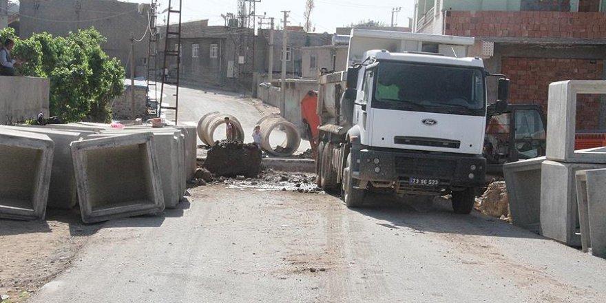 Silopi'de kanalizasyon hattı onarıldı