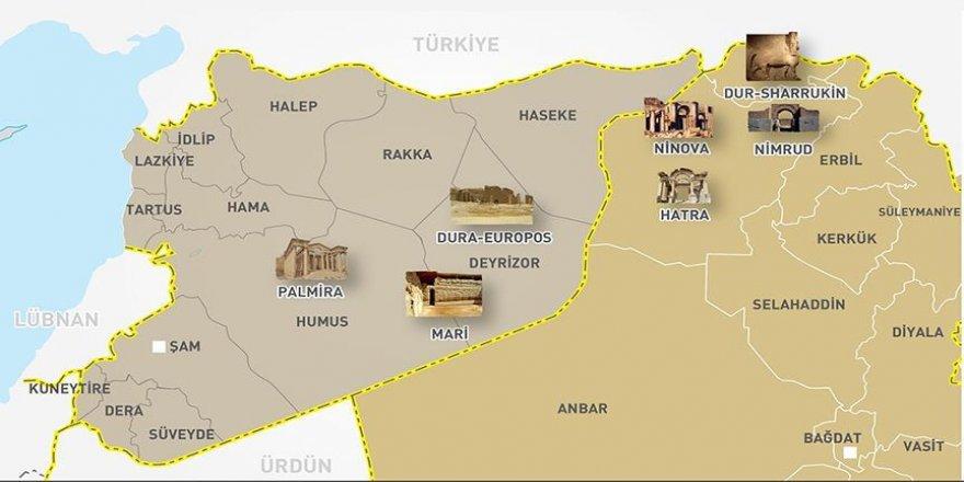 DEAŞ Nemrud antik kentine büyük zarar verdi
