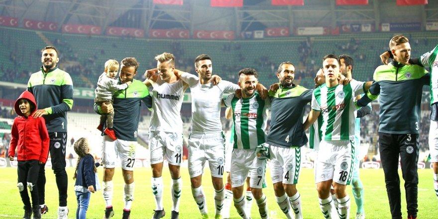 Konyaspor'da çalışan formayı kaptı
