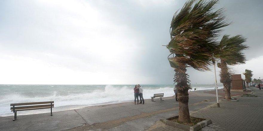 Akdeniz için fırtına ve don uyarısı