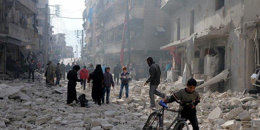 Halep'te bombardıman: 42 ölü, 82 yaralı