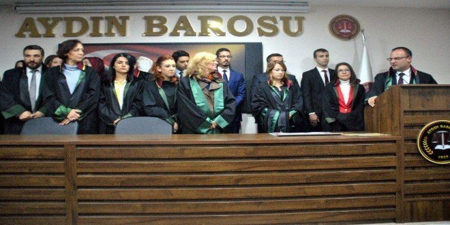 Aydın'da yeni avukatlar için yemin töreni yapıldı