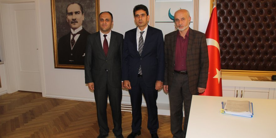Başkan Özaltun'dan, İl Emniyet Müdürü Yaman'a ziyaret