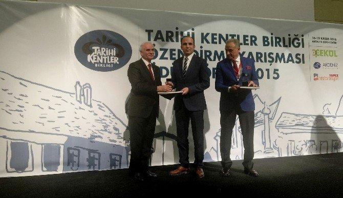 Selçuklu Belediyesine, Tarihi Kentler Birliği süreklilik ödülü