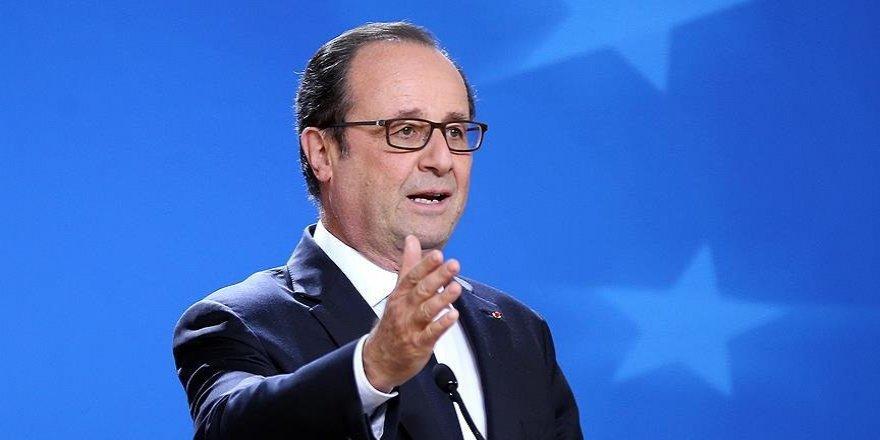 Hollande'dan Rusya'ya veto eleştirisi