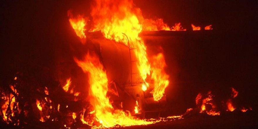 Yakıt tankeri patladı: 73 ölü, 100 yaralı