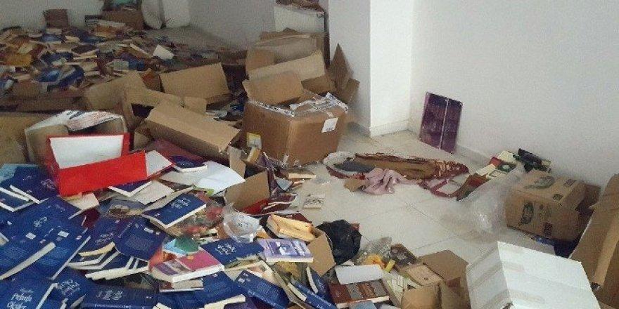 Malatya'daki FETÖ operasyonlarında çok sayıda doküman ele geçirildi